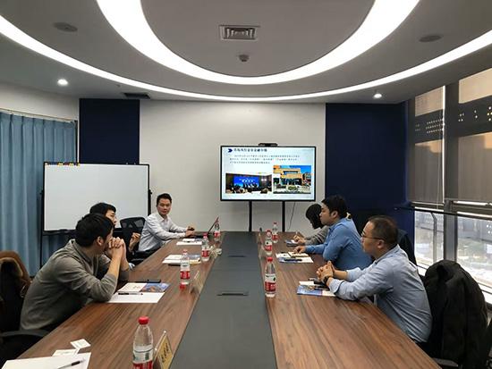 """南京江东商贸区赴上海玖豫考察,开启""""新经济招商""""新模式!"""